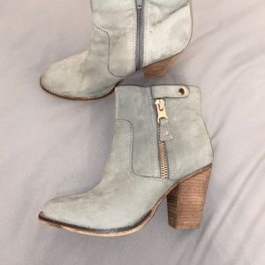 ALDO Grey Booties